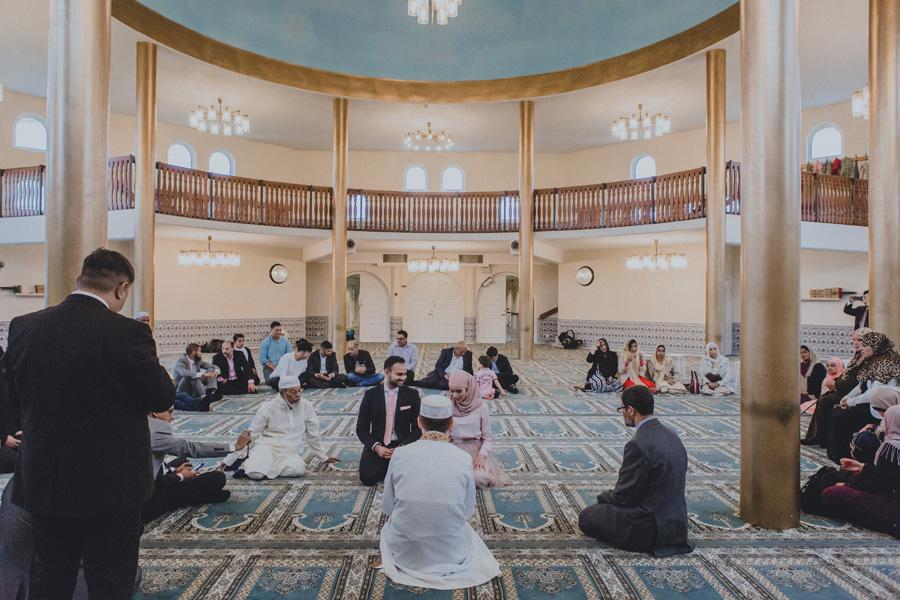 malmö,moské,bröllopsfotograf,ceremoni,stora,salen
