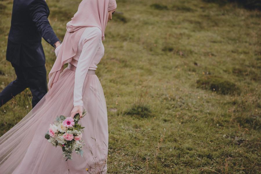 hijab,pink,dalby,stenbrott,bröllopsfotograf