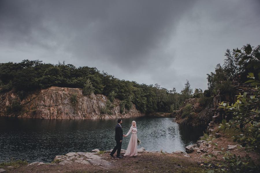 dalby,stenbrott,regn,bröllopsfotograf,skåne,saga,moln