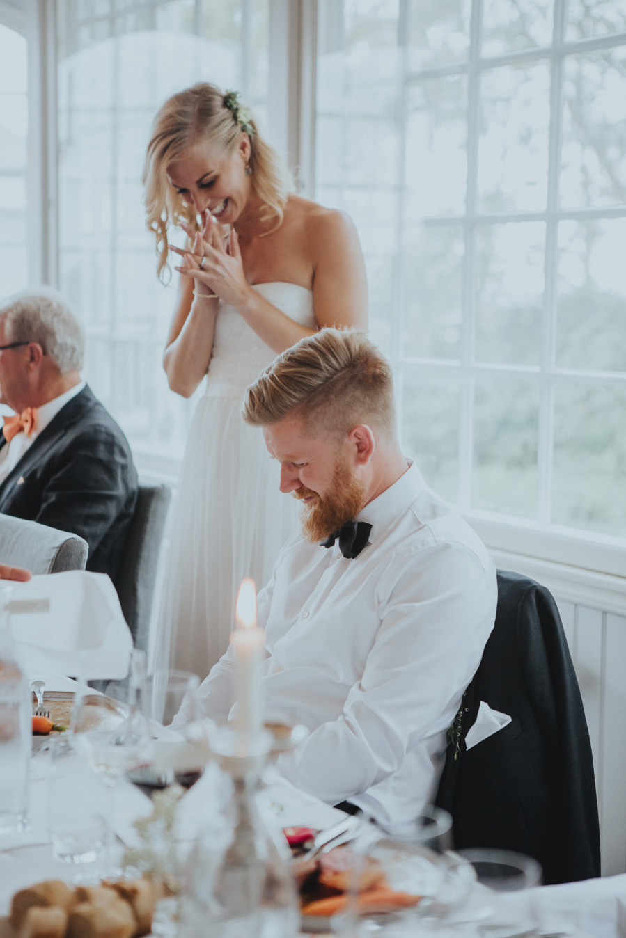 känslor,tal,bröllop,vitemölla