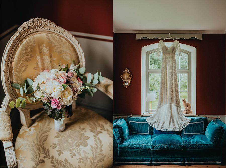 idalagård,brudbukett,brudklänning,wedding