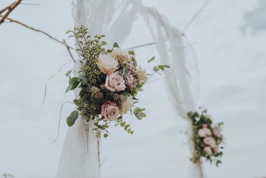 bohemisk,vigsel,havet,bröllopsfotograf
