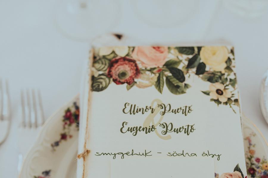 petrasporslin,dukning,bröllop